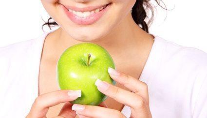Укрепление эмали с помощью яблока