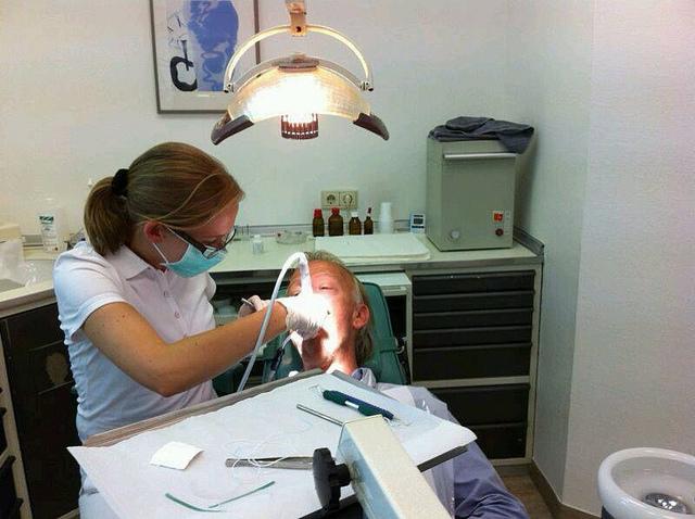 Чистка полости рта