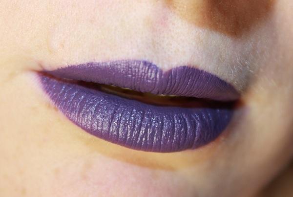 Губы фиолетовые